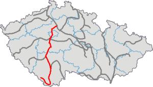 2015 Vltava - mapa